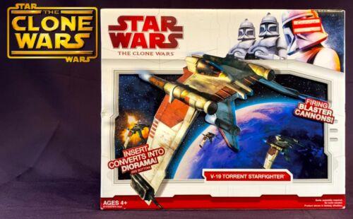 Star Wars The Clone Wars V-19 Torrent Starfighter 2009