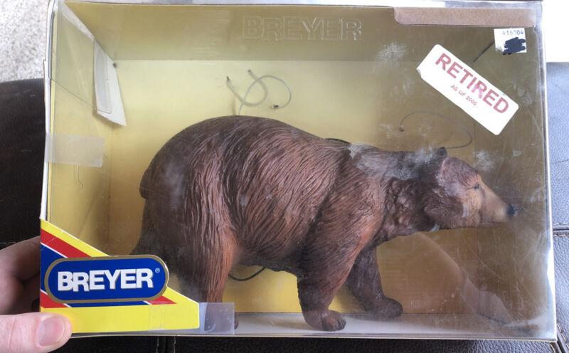 Retired Breyer Brown Bear Loose in Original Box