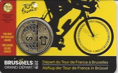Belgie 2,5 euro 2019 Tour de france  (Frans)