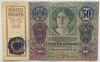 Autriche Banca Ungheria - 50 Korona - 1914 - Biglietto Da Conservazione : B -  - ebay.it