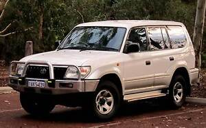1999 Toyota Land Cruiser Prado GXL, Automatic, Petrol/LPG. Rivervale Belmont Area Preview