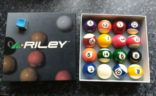 Vintage Riley Pool Balls