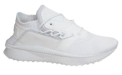 Puma TSUGI Shinsei Lace Up White Textile Mens Trainers Shoes 363759 02 M14