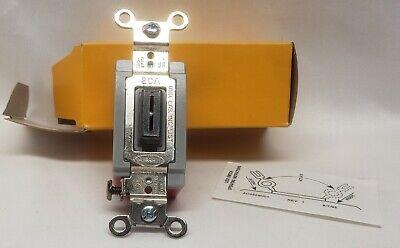 Hbl1221l Lock Switch Single Pole 20a 120-277 With Key