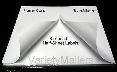 600 Half Sheet Postal Ebay Paypal Shipping Postage Labels Strong Adhesive