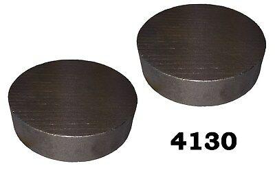 4 Round 4130 Steel Alloy Boron Rolled Bars Billets 2 1-1.5 Long 41b30 Hl