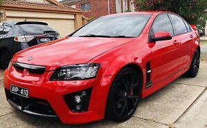 HSV VE GTS AUTO STING RED.