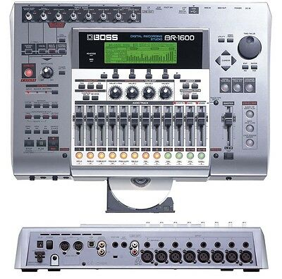 BOSS BR-1600 CD 16 MULTI TRACK DIGITAL USB HARD DRIVE RECORDING STUDIO 800 1200 16 Track Hard Disk