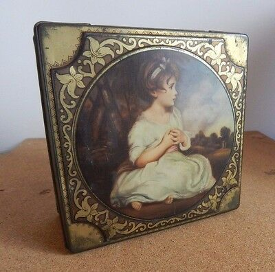 Vintage Thornes Toffee The age of innocence by Joshua Reynolds 14cm x 6cm.