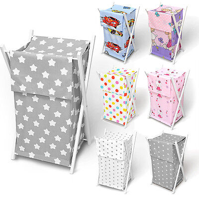 baby laundry basket nursery hamper bag storage