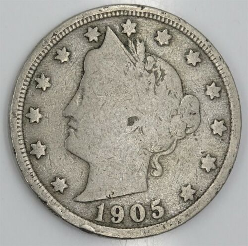 Liberty Head V Nickel Assorted Dates  1883 To 1912   #lhna