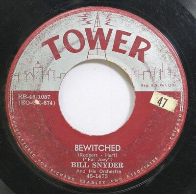 Hear! Jazz 45 Bill Snyder - Bewitched / Drifting Sands On Tower