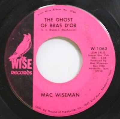 Hear! Country 45 Mac Wiseman - The Ghost Of Bras Dor / Legend Of The Irish Rebel