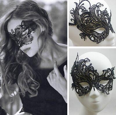Damen Spitzen Maske Augenmaske Spitze Venezianische Gesichtsmaske Party Karneval