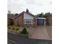 Two Bedroomed Detached Bungalow, quiet location, gardens, garage, conservatory