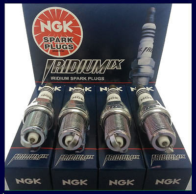 NGK 3764 BKR6EIX-11 Iridium IX Spark Plugs 4 PC