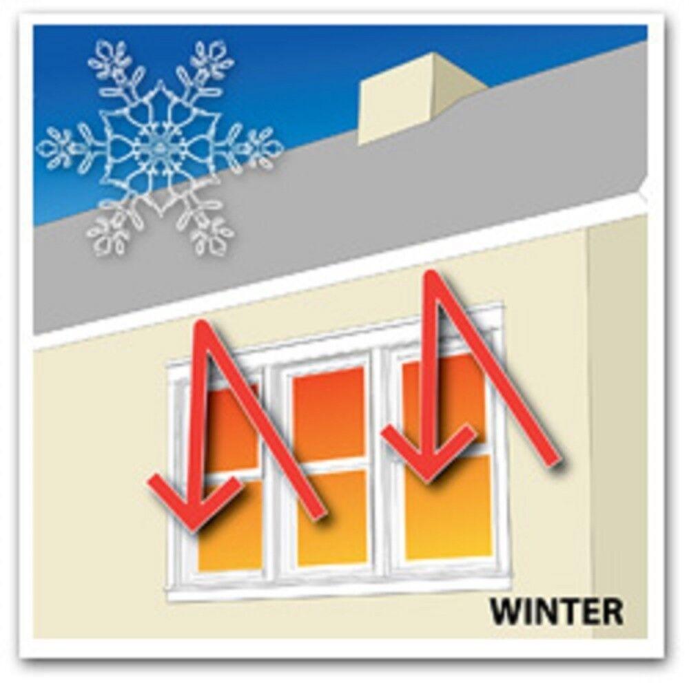 Attic foil insulation