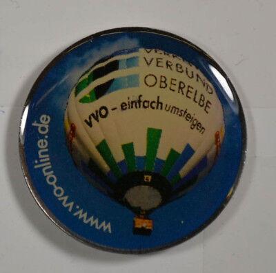 Hot Air Balloon - VVO Online - PIN BADGE approx. 3 x 2 cm (an2694)](Balloons Online)
