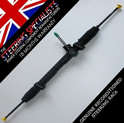 Vauxhall Combo, 1.7 Di, CDTI 2001 to 2011 Remanufactured Steering Rack, EPS