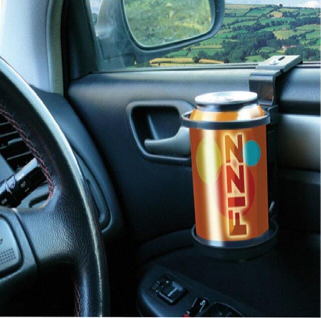 Universal Car Van Drinking Water Bottle Can Cup Mug Holder Clip on Window Mount