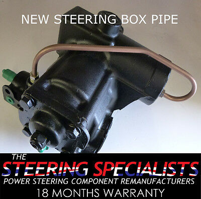 Land Rover Discovery 1989 to 1998 4 Bolt Power Steering Box Bypass Pipe
