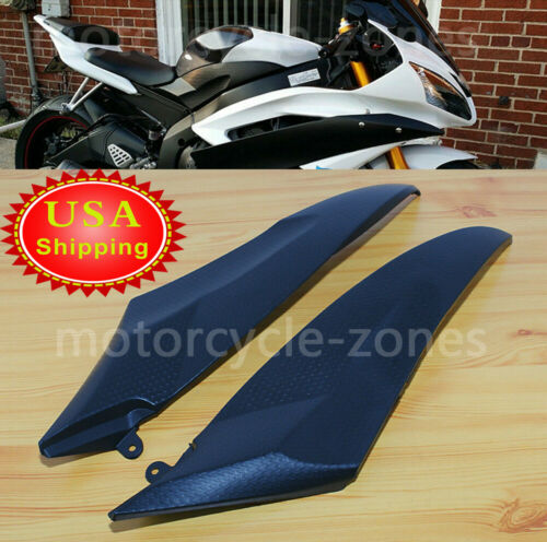 Gas Fuel Tank Side Cover Fairing Panel Cowl Trim For Yamaha YZF R6 2006-2007