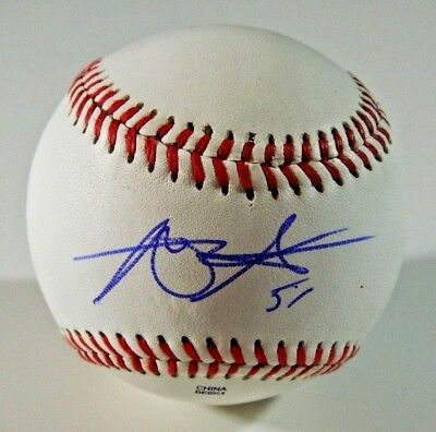 Alec Asher Signed Baseball Phillies Orioles autographed