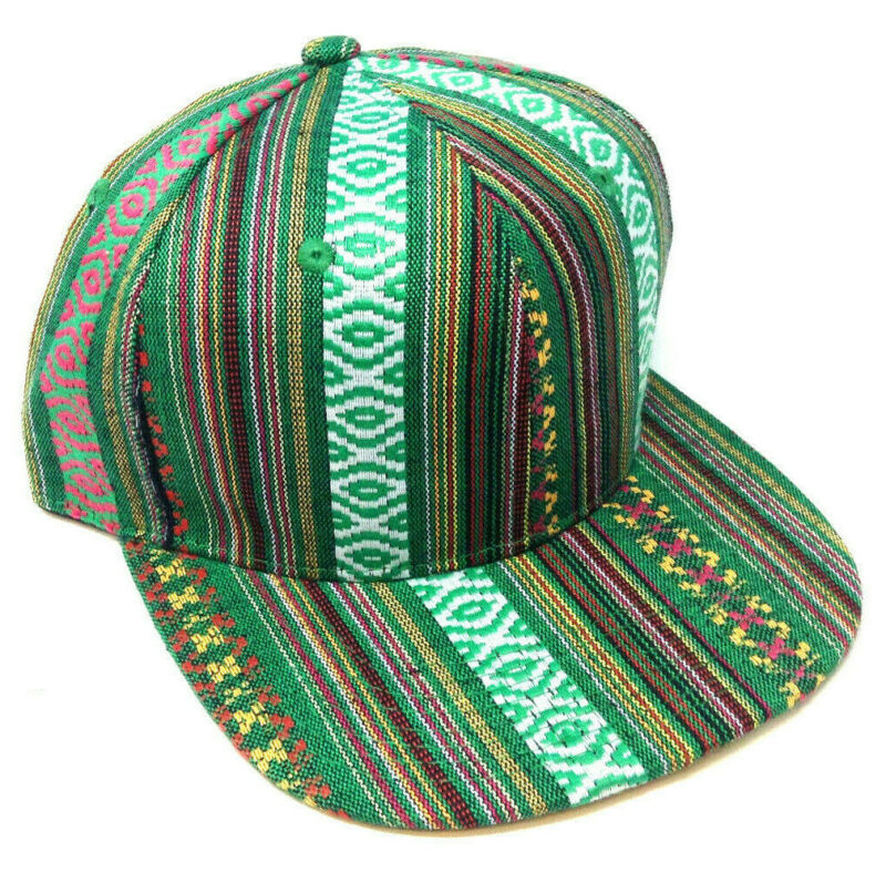 STRIPED NAVAJO PRINT SNAPBACK HAT CAP ABSTRACT AZTEC NATIVE AMERICAN RETRO