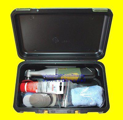 PROXXON 28660 Set Winkelpolierer Polierer WP/E mit allem Zubehör im Koffer NEU