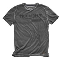 Genuino Triumph Motorcycles Mcneal Camiseta Bonneville Con Logo Gris -  - ebay.es