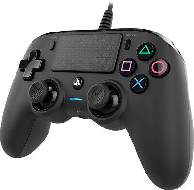 Nacon PS4 Wired Compacto Controlador Para PLAYSTATION 4 Negro