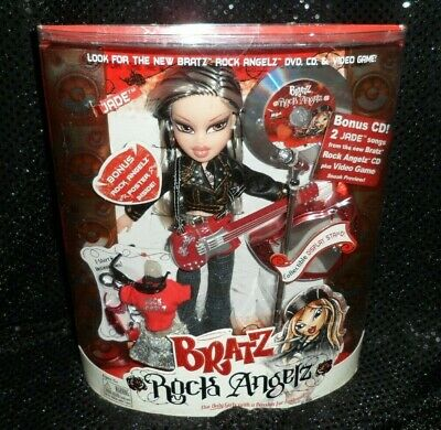 BRATZ ROCK ANGELZ Jade 2005 BRAND NEW IN BOX Toy MGA RARE HTF *DOUBLE BONUS*