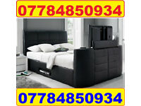 TV BED + MEMORY FOAM 1000 POCKET SPRUNG MATTRESS + DELIVERY 7904