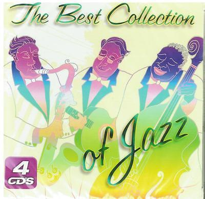 The Best Collection Of Jazz CD NEW Great Hits 4 Disc SET With 60 Songs