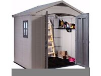 Keter 8'x6' Plastic Resin Shed