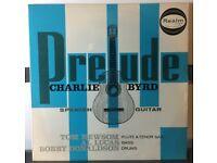 PRELUDE, Charlie Byrd 12 inch VINYL
