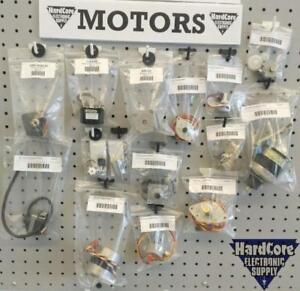 Motors & Stepper Motors @ Hardcore Electronic Supply Open late Thursdays till 6:30pm