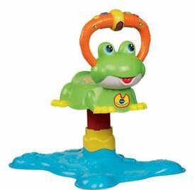 Baby bounce frog