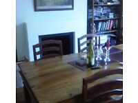Maharani range dining table and six chairs - John Lewis