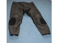 Frank Thomas Leather Trousers - Used Twice Size 40S