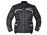 GMAC PILOT MOTORCYCCLE JACKET, BLACK, AVAILABLE ALL SIZES - BE QUICK