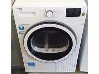 Beko 8 kg condenser dryer in white