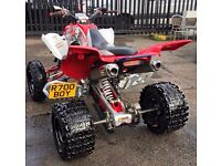 PRIVATE PLATE AVAILABLE YAMAHA RAPTOR R700BOY