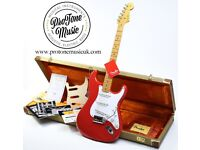 Fender USA Custom Shop 56 Relic Stratocaster Fiesta Red & Original Case, COA & Tags
