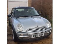 2001 Silver Mini Hatch with Chili Upgrade Pack