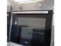 Stainless Beko built In single Integrated fan oven -