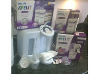 Tommee Tippee prep machine and accessories