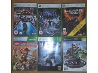Xbox 360 Game Collection - Halo , Halo 4, Star Wars Unleashed - 6 fantastic games