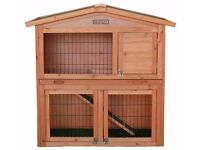 Bentley Two-Tier Rabbit Hutch - Brand New