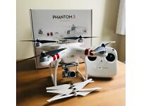 DJI Phantom 3 Standard Drone (boxed with lots of extras)
